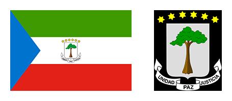 Banedra y Escudo de Guinea Ecuatorial