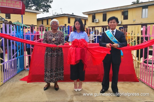 Opening of Plaza de Amistad in Malabo