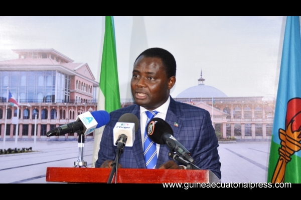 Eugenio Nze Obiang holds press conference on second session of Council of Ministers meeting
