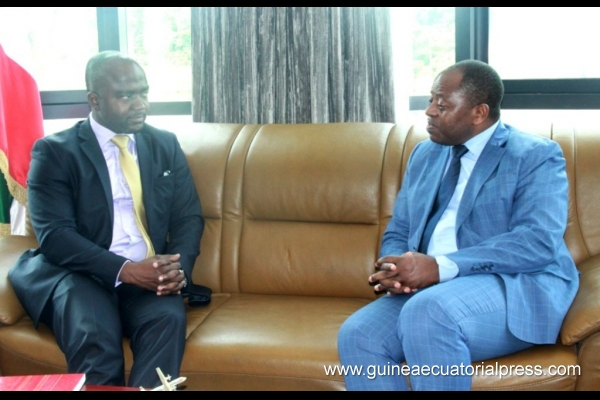 Minister for Civil Aviation receives delegation from São Tomé and Principe
